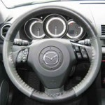 Mazda 3 Leather Steering Wheel Cover